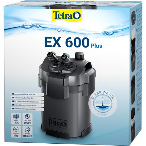 Внешний фильтр Tetra External Filter EX 600 Plus- Внешний фильтр EX 600 плюс (60-120 л)