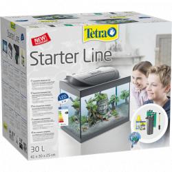 Аквариумный комплект Tetra Starter Line LED Gray black 30L MK