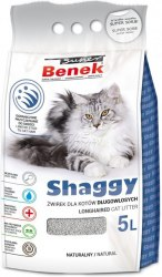 Наполнитель S.Benek Shaggy для длинношерстных кошек, 5л