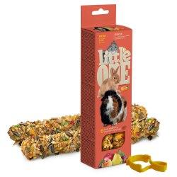 Палочки Little one для морских свинок, кроликов и шиншилл с фруктами, 2*60г