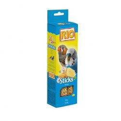 Палочки RIO для волнистых попугаев и экзотических птиц с медом, 2*40г