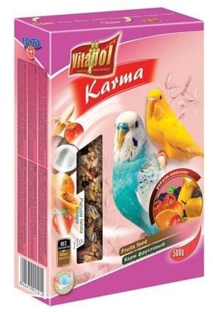 Корм Vitapol Karma фруктовый для волнистых попугаев, 500 г
