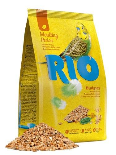 Корм RIO для волнистых попугаев. Рацион во время линьки, 500г
