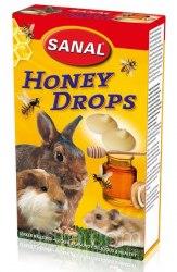 Дропсы Sanal медовые для грызунов, 45г