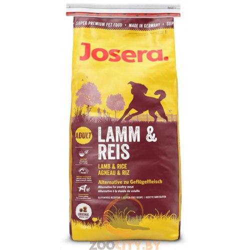 Сухой корм Josera Lamb&Rice 100г