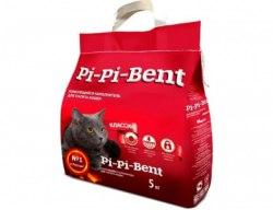 Наполнитель PiPiBent Классик, бентонит, 5 кг