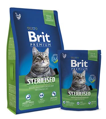 Сухой корм Brit Premium Cat Sterilised НА РАЗВЕС 100г
