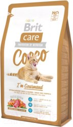 Сухой корм Brit Care Cat Cocco Gourmand НА РАЗВЕС 100 г