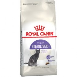 Сухой корм Royal Canin STERILISED - 2 кг + 2пауча В ПОДАРОК