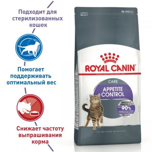 Сухой корм Royal Canin Sterilised Appetite Cntrl 2 кг