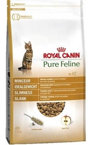 Сухой корм Royal Canin PURE FELINE SLIMNESS - 1,5 кг