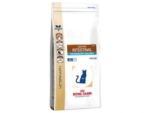 Сухой корм Royal Canin Gastro Intestinal Moderate Feline - 2 кг