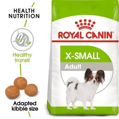 Сухой корм Royal Canin X-SMALL ADULT - 1,5 кг, для взрослых собак мелких пород