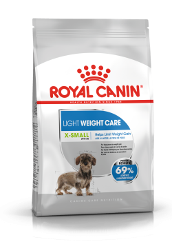 Сухой корм Royal Canin X-SMALL LIGHT WEIGHT CARE 1,5 кг