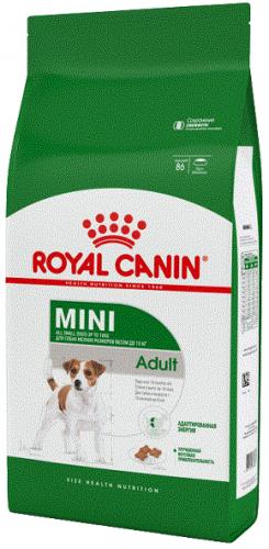 Сухой корм Royal Canin MINI ADULT - 4 кг