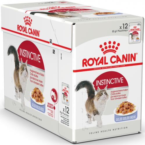 Влажный корм Royal Canin INSTINCTIVE in JELLY 85 г/ 12шт