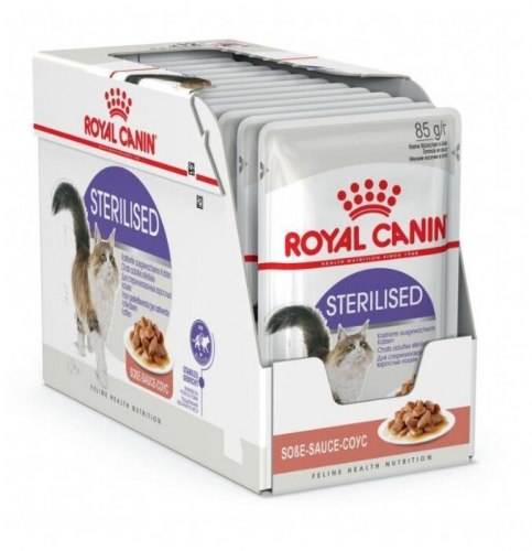 Влажный корм Royal Canin STERILISED in GRAVY 85 г/1 шт