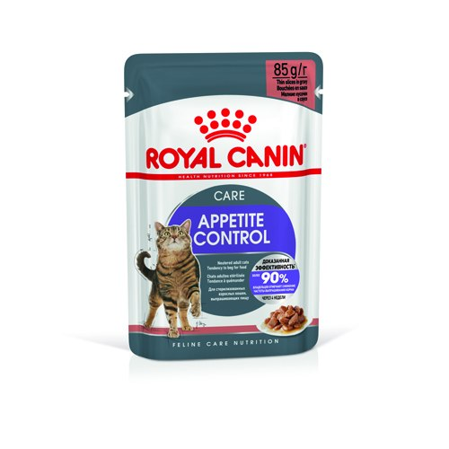 Влажный корм Royal Canin STERILISED APPETITE CNTRL in GRAVY 85г/12 шт