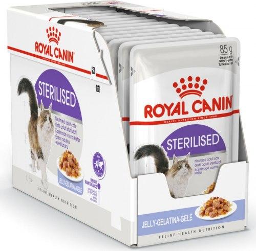 Влажный корм Royal Canin STERILISED in JELLY 85 г/1 шт