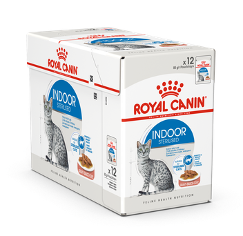 Влажный корм Royal Canin INDOOR STERILISED in GRAVY 85 г/12 шт