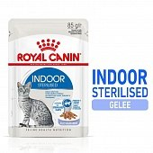Влажный корм Royal Canin INDOOR STERILISED in JELLY 85г/1 шт