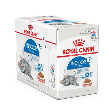 Влажный корм Royal Canin INDOOR STERILISED +7 in GRAVY 85г/12 шт
