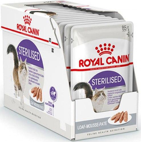 Влажный корм Royal Canin STERILIZED LOAF 85г/12 шт