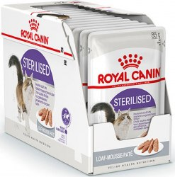 Влажный корм Royal Canin STERILIZED LOAF 85г/1 шт