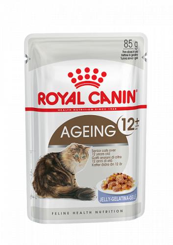 Влажный корм Royal Canin AGEING +12 in JELLY 85 г/12 шт