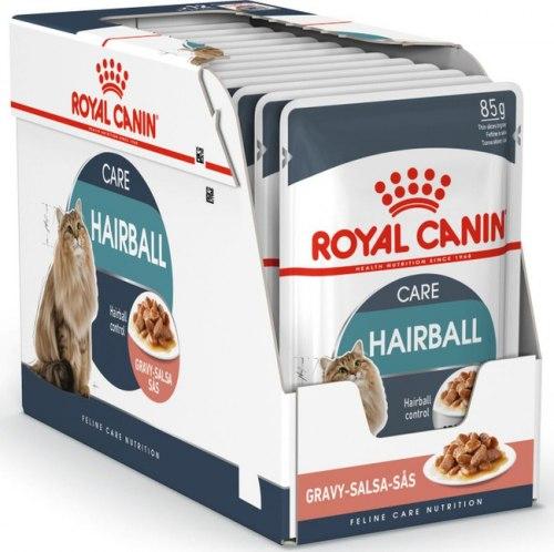 Влажный корм Royal Canin HAIRBALL CARE 85 г/12 шт