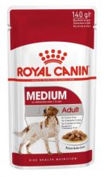 Влажный корм Royal Canin Medium Adult 140г/10шт, в соусе