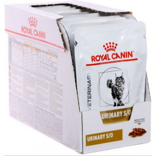 Влажный корм Royal Canin URINARY S/O FELINE CHICKEN 85г/12 шт