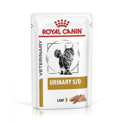 Влажный корм Royal Canin URINARY S/O FELINE CHICKEN LOAF 85г/12шт
