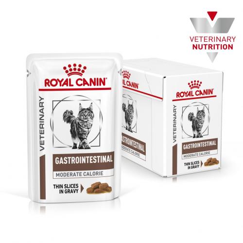 Влажный корм Royal Canin Gastro Intestinal Feline 85г/12 шт