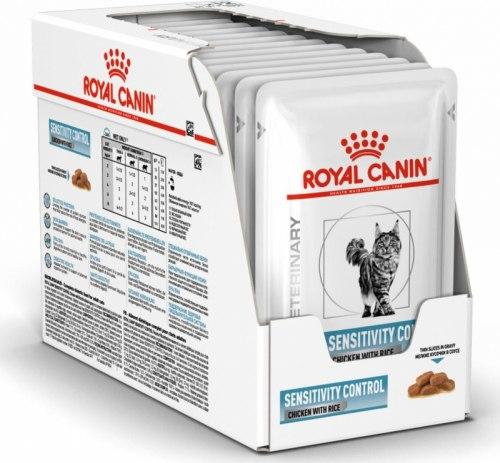 Влажный корм Royal Canin SENSITIVITY CONTROL FELINE 85г/12 шт