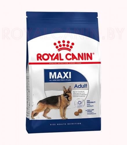 Сухой корм Royal Canin MAXI ADULT - 15 кг