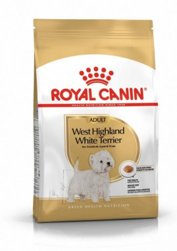 Сухой корм Royal Canin WEST HIGHLAND WHITE TERRIER ADULT - 3 кг