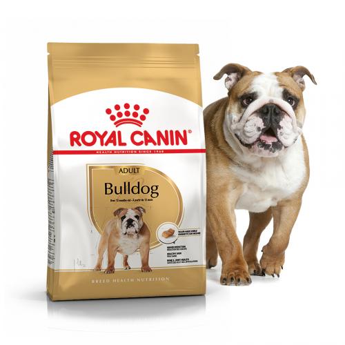 Сухой корм Royal Canin BULLDOG ADULT - 12 кг