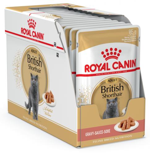 Влажый корм Royal Canin BRITISH SHORTHAIR 85 г/12 шт