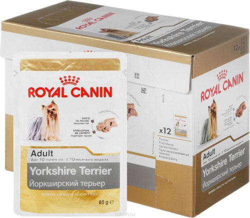Влажый корм Royal Canin YORKSHIRE TERIER 85 г/12 шт