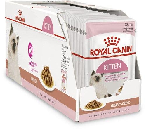 Влажный корм Royal Canin KITTEN in GRAVY 85г/12 шт