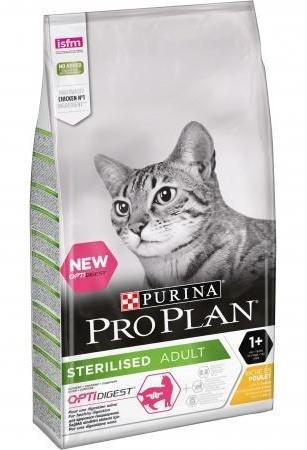 Сухой корм Pro Plan STERILISED для стерилизованных кошек, с курицей 400г