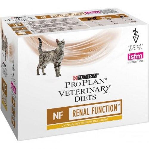 Консерва Pro Plan для кошек при патологии почек курица 85г/10 шт