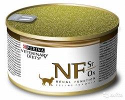 Консерва Pro Plan PPPVD NF St/Ox для взрослых кошек при патологии почек 195 г