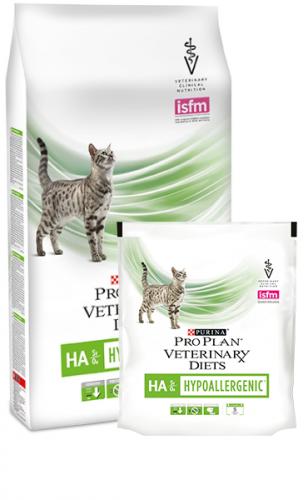 Сухой корм Pro Plan НА St/Ox. для котят и взрослых кошек при аллергических реакциях 1,3 кг
