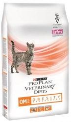 Сухой корм Pro Plan OM St/Ox для взрослых кошек для снижения избыточной массы тела, с низкой калорийностью, 1,5 кг