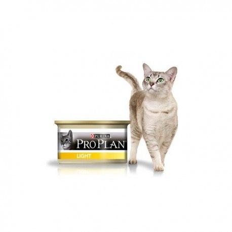 Консерва Pro Plan для взрослых кошек с избыточным весом, с индейкой в соусе 85г/6шт (банка)
