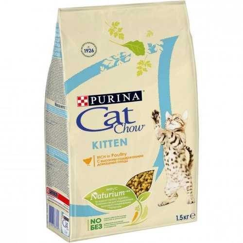 Сухой корм Cat Chow Cat Chow для котят (с курицей) - 15 кг
