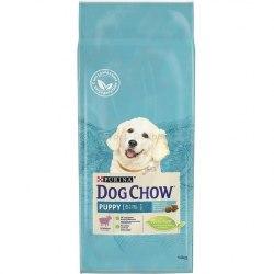 Сухой корм PURINA Dog Chow Puppy с ягненком и рисом - 14 кг