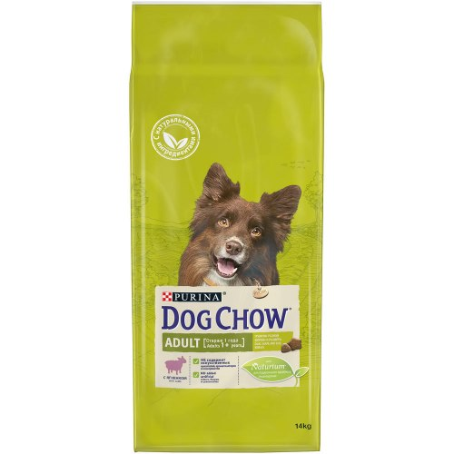 Сухой корм PURINA Dog Chow ADULT с ягненком - 14 кг
